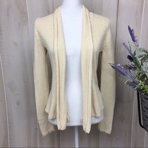 Angel of the North Cream Annabelle Cardigan